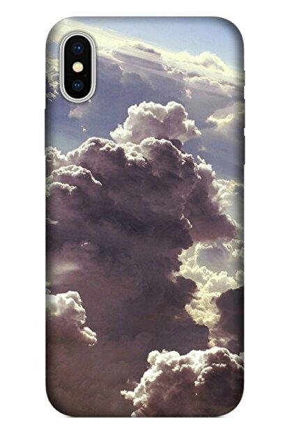 Cekuonline Iphone X - Iphone Xs Tıpalı Kamera Korumalı Silikon Kılıf