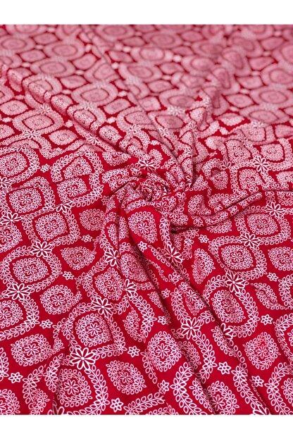 Kumaş Kervanı Doğal Desenli Çift En (150 cm) Viskon Kumaş