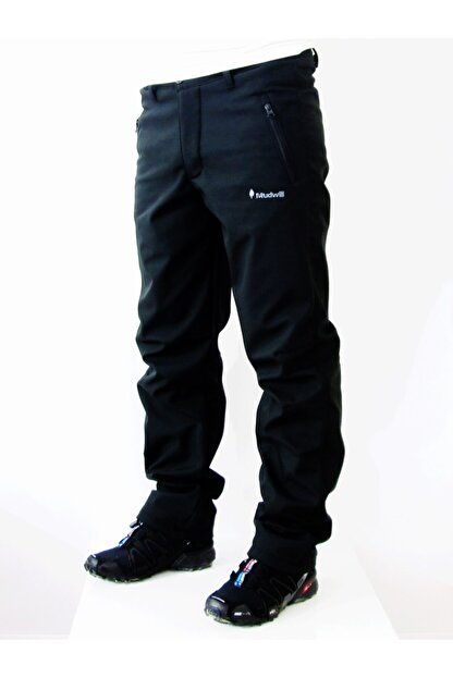 Mudwill Erkek Siyah Outdoor Softshell Pantolon  202223