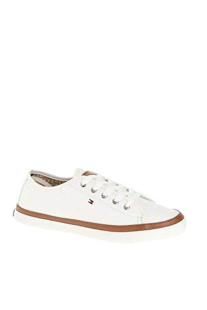 Tommy Hilfiger Kadın Beyaz Sneaker Iconıc Kesha Sneaker FW0FW02823