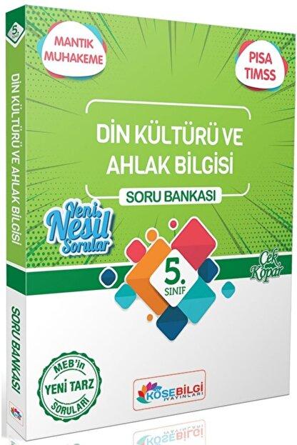 kitapzum Köşebilgi Yayınları 5. Sınıf Din Kültürü Ve Ahlak Bilgisi Soru Bankası Köşebilgi Yayınları