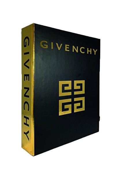 LYN HOME & DECOR Siyah Gold Varaklı Givenchy Dekoratif Aksesuar