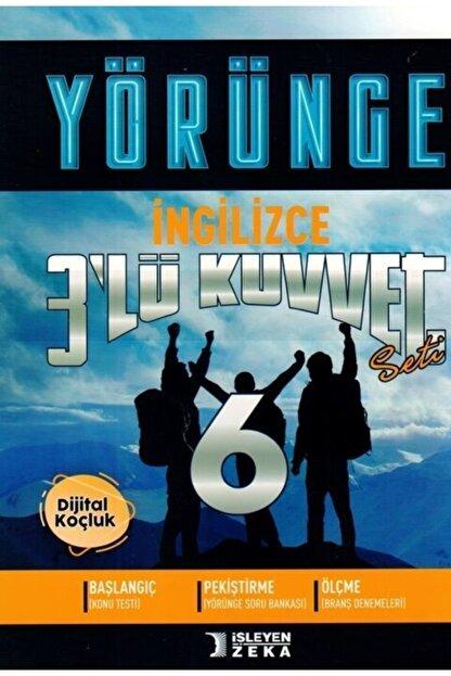 İşleyen Zeka Yayınları Işleyen Zeka 6. Sınıf Ingilizce 3 Lü Kuvvet Yörünge Serisi Seti