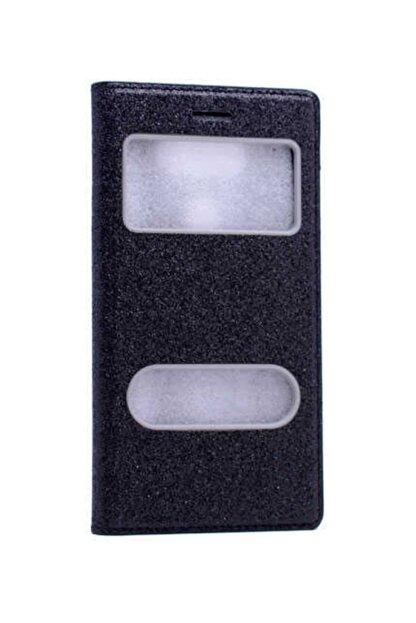 Dijimedia Samsung Galaxy Note 5 Kapaklı Simli Telefon Kılıfı