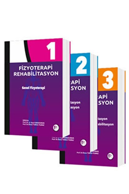 Hipokrat Kitabevi Fizyoterapi Rehabilitasyon Seti (3 Cilt Takım)