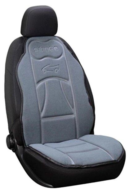 DAT Chevrolet Oto Araç Koltuk Atlet Kılıf Oto Koltuk Minderi Gri 1 Adet