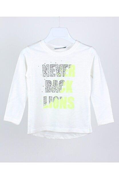 Jack Lion Acklions Erkek Bebek Neon Baskılı Sweatshirt