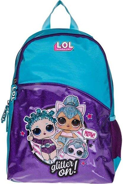Lol L.o.l Turkuaz Glitter On Okul Çantası