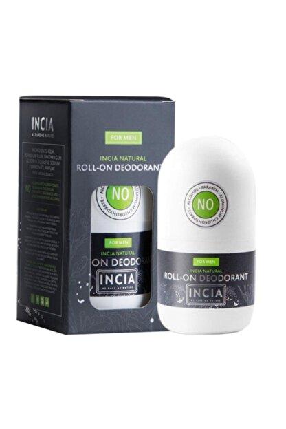 INCIA Doğal Roll-on Deodorant 50 Ml / Erkekler Için