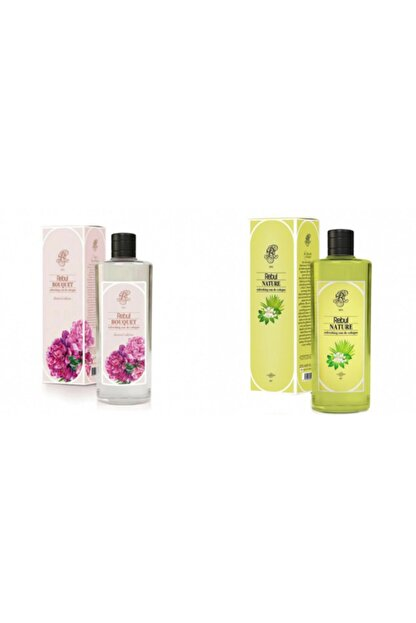 Rebul Buket + Nature 270 Ml Cam Şişe Set