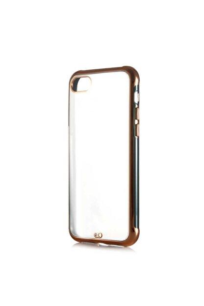 Dijimedia Apple Iphone 8 Arkası Şeffaf Mat Sert Renkli Plastik Kapak ve Ekran Koruyucu
