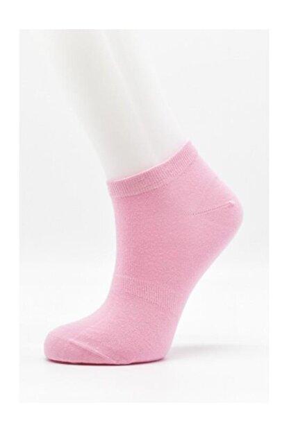 URART Kadın Açık Pembe Modal Patik Çorabı Patik-1