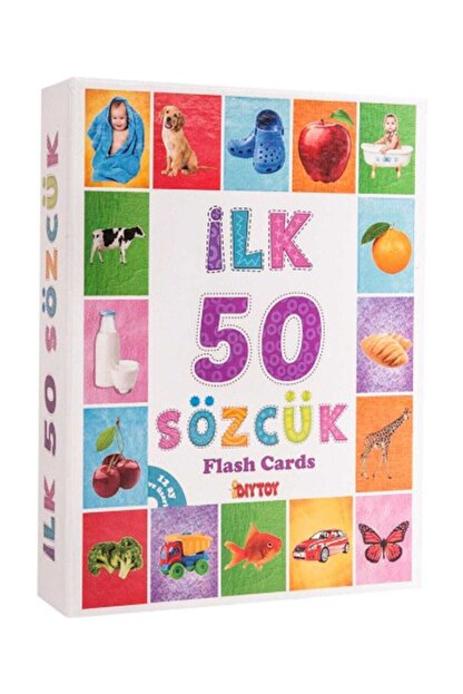 Diytoy Ilk 50 Sözcük Flash Card