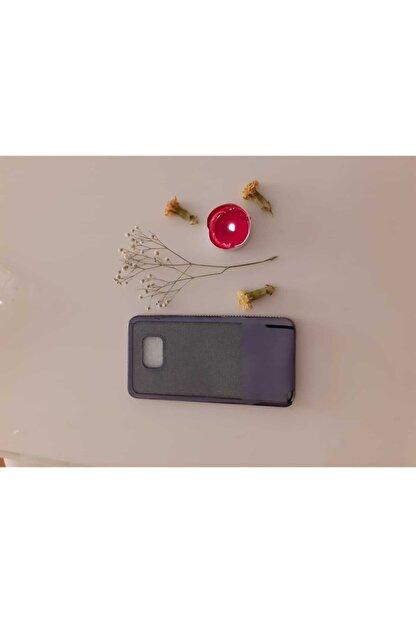 Jopus Samsung Galaxy Note 5 Kılıf Yanları Taşlı Simliı Silikon Kılıf Siyah