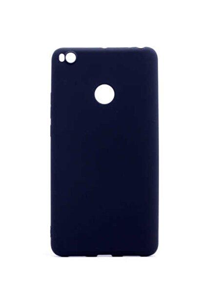 Nokta Xiaomi Mi Max 2 - Kılıf Mat Soft Pürüzsüz Silikon Kılıf + Ekran Koruyucu Hediye -