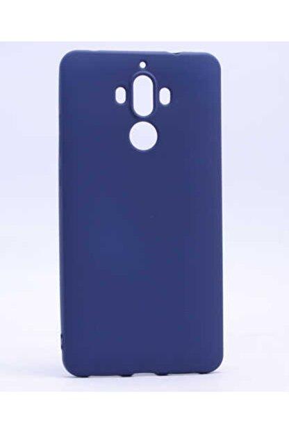 Zore Huawei Mate 9 - Kılıf Mat Soft Pürüzsüz Silikon Kılıf + Ekran Koruyucu Hediye -