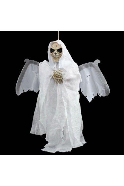 Ricardo Halloween Kanat Çırpan Kurukafa Beyaz