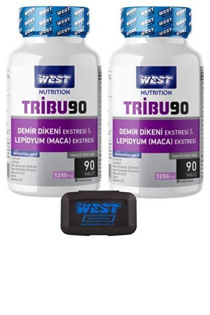West Nutrition Tribu90 Tribulus Demir Dikeni Lepidyum Maca Panax Ginseng Ekstresi ve Sitrülin 2 90 Tablet