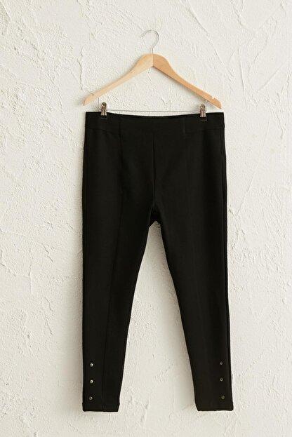 LC Waikiki Kadın Siyah Pantolon 0WCL98Z8