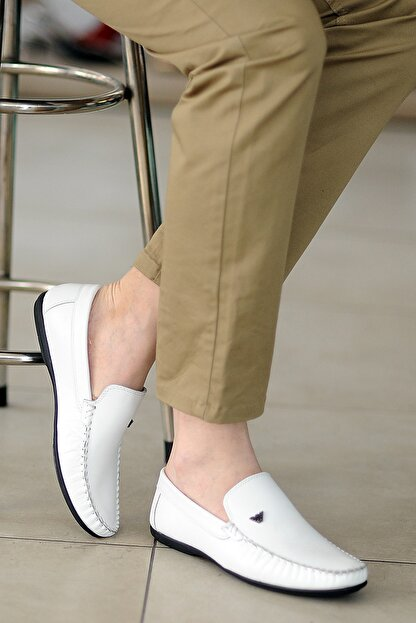 Tekin Ayakkabı Erkek Beyaz Casual Ayakkabı
