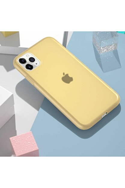 Dijimedia Apple Iphone 11 Pro Max - Kılıf Mat Ve Pürüzsüz Ultra Ince Esnek Yapılı Silikon -odos-