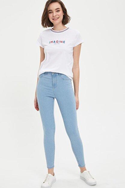Defacto Anna Yüksek Bel Super Skinny Fit Jean Pantolon