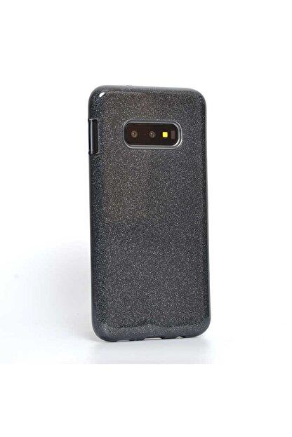 Dijimedia Samsung S10e - Kılıf Simli Silikon Koruyucu Telefon Kılıfı Shınıng