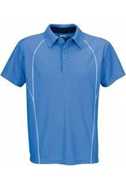 Slazenger Erkek Mavi Polo Yaka T-shirt