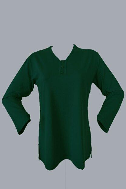 Rüya Kadın Yeşil Anne Penye Bluz