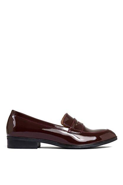 Sole Sisters Kadın Kırmızı Düz Loafer Ayakkabı