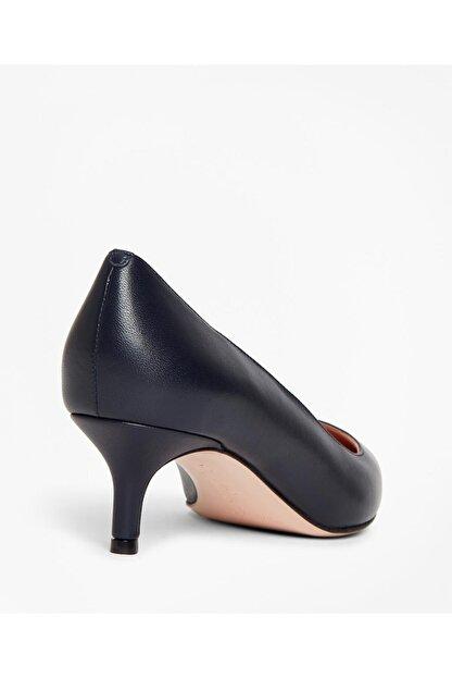 BROOKS BROTHERS Kadın Siyah Kısa Sivri Topuklu Ayakkabı