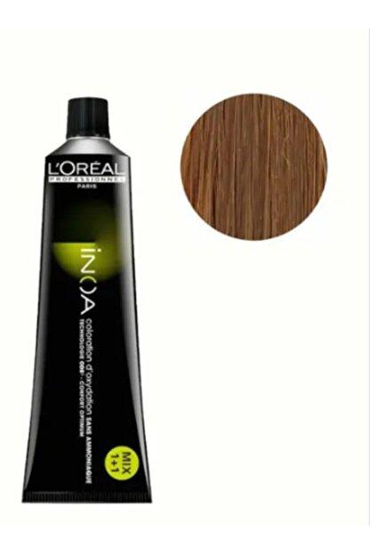 L'oreal Professionnel L'oreal Professional Inoa Saç Boyası 8,1 Renk Koyu Sarı Küllü