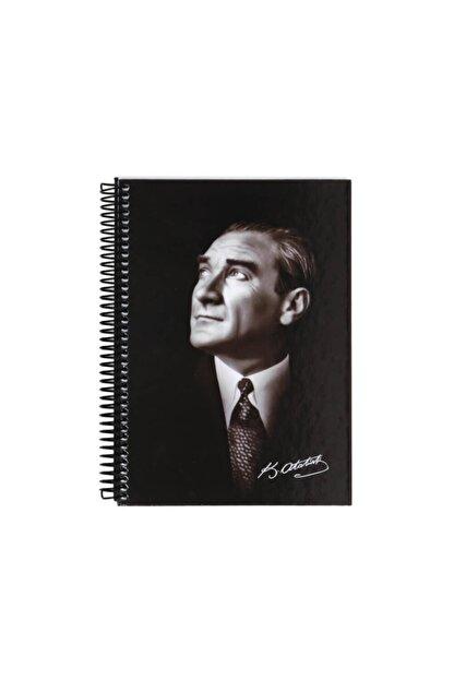 Keskin Color Yayınları Keskin Color Atatürk 14x20 80 Yaprak Sert Kapak Çizgili Defter