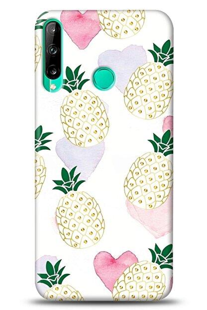 Mobilcadde Huawei P40 Lite E Pineapple Heart Kılıf