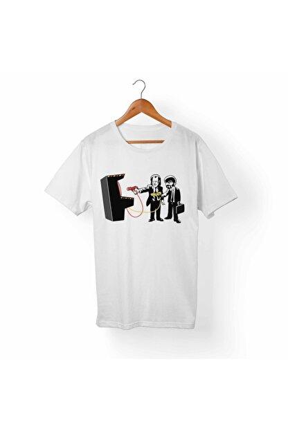 Alfa Tshirt Unisex Beyaz T-Shirt