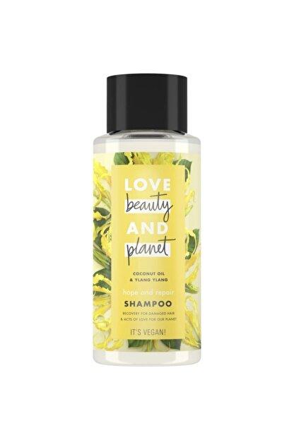 Love Beauty and Planet Hindistan Cevizi Yağı Ve Ylang Ylang Özlü Şampuan 400 Ml