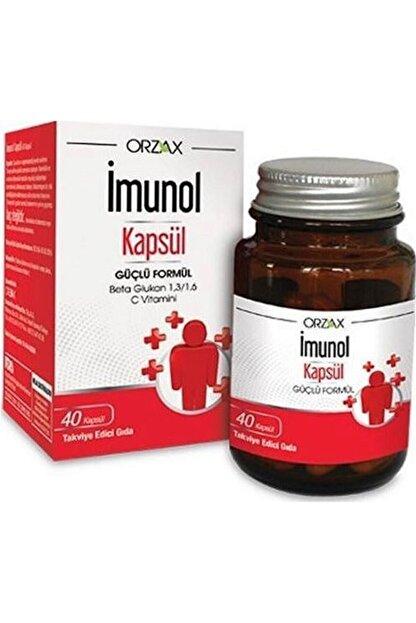 Orzax Imunol Güçlü Formül 40 Kapsül