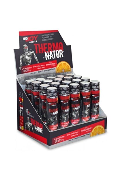 Big Joy Thermonator L-carnitine 3000 Mg 20 Ampul - Portakal Aroma -