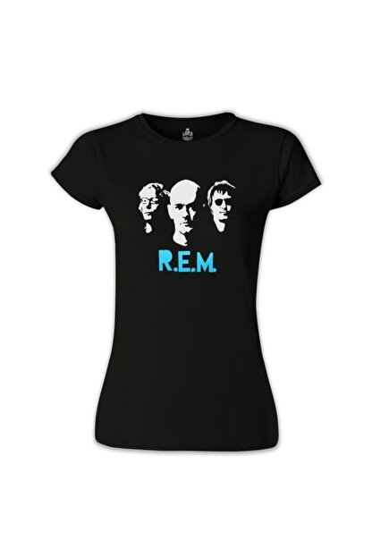 Lord T-Shirt Kadın Siyah Baskılı T-Shirt
