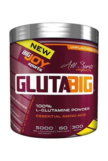 Big Joy Bigjoy Glutabig %100 Glutamine Powder 300 gr