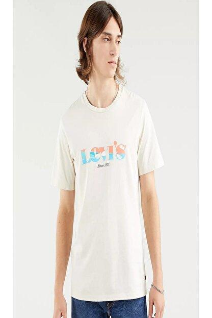 Levi's Erkek Beyaz Tişört 22491-0957