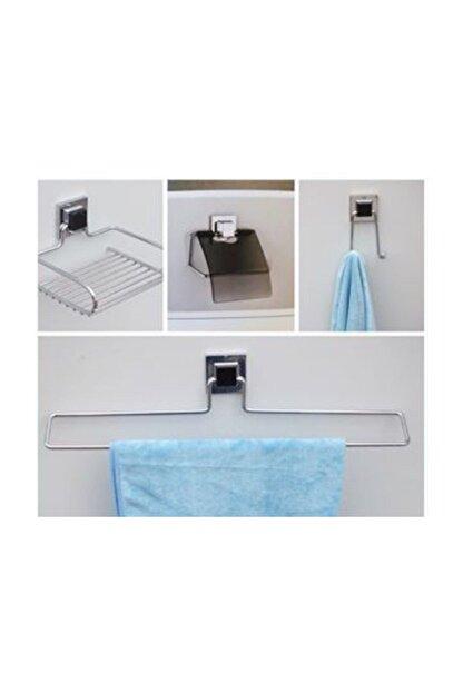 Hagen 4'lü Güçlü Yapıştırma Banyo Seti