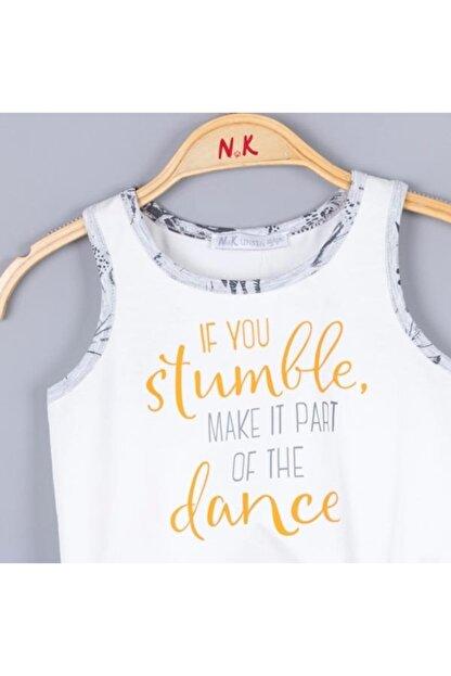 Nk Kids Kız Çocuk Ekru Dance Bluz