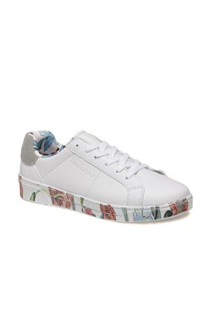 Lumberjack DELBIN 1FX Beyaz Kadın Havuz Taban Sneaker 100933280