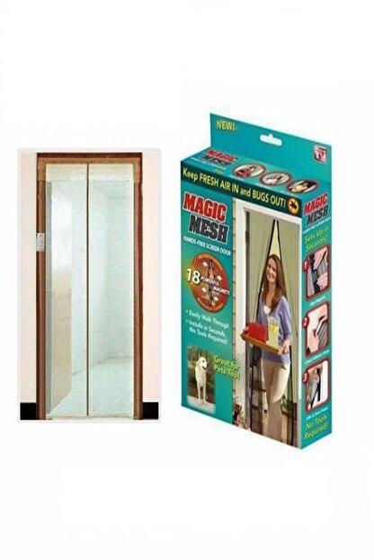 Woxo Mıknatıslı Kapı Sinekliği Magic Mesh Kahverengi