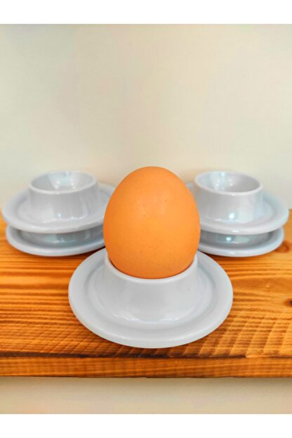 SLV 6' Lı Beyaz Kırılmaz Yumurtalık Takımı