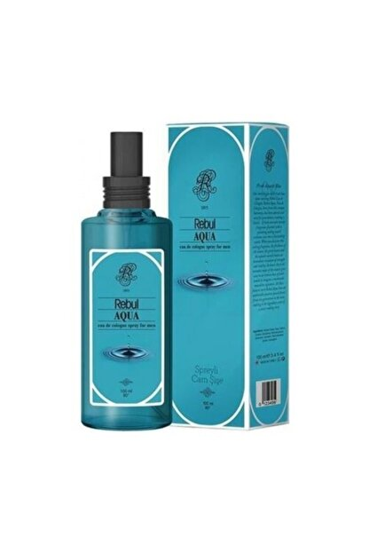 Rebul Aqua Spreyli Cam Şişe Kolonya 100 ml