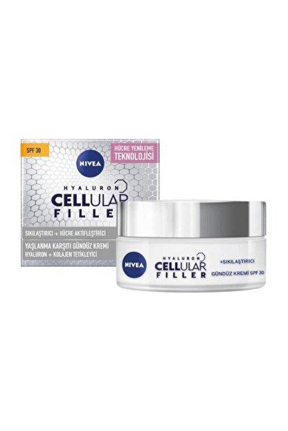 Nivea Hyaluron Cellular Fıller + Sıkılaştırıcı Yaşlanma Karşıtı Gündüz Kremi Spf 30 50 Ml