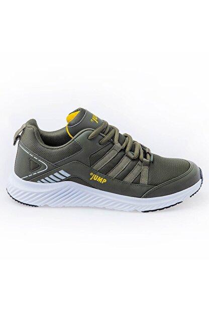 Jump 24865 Haki Sarı Erkek Günlük Spor Ayakkabı