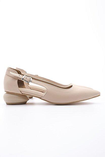 Marjin Kadın Günlük Klasik Topuklu Ayakkabı Evolibej